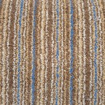 80-percent wool stripe twist carpet hessian back £7.50 per square metre