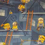 Minions felt back carpet £6.95 per square metre