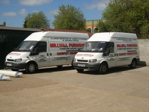 Millwill Furnishers Deliveries