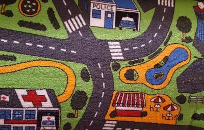Roadmap felt back carpet £5.00 per square metre