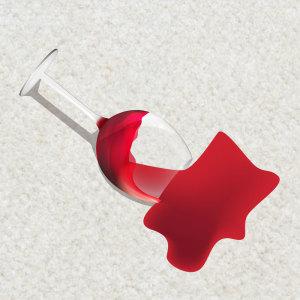 Wine Spilt On Carpet