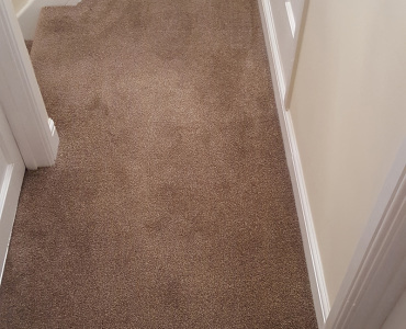 Landing carpet fitted